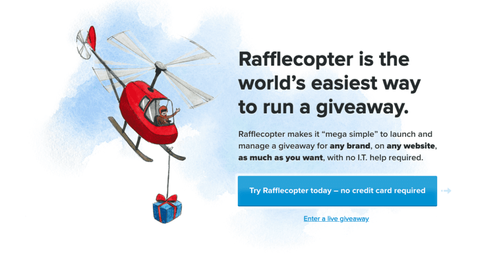 Rafflecopter is one of the more peculiar social media management tools for events.