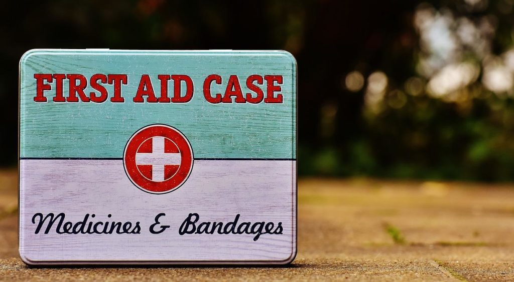 A good event contingency plan means picking up a first aid kit like this one and getting familiar with it.