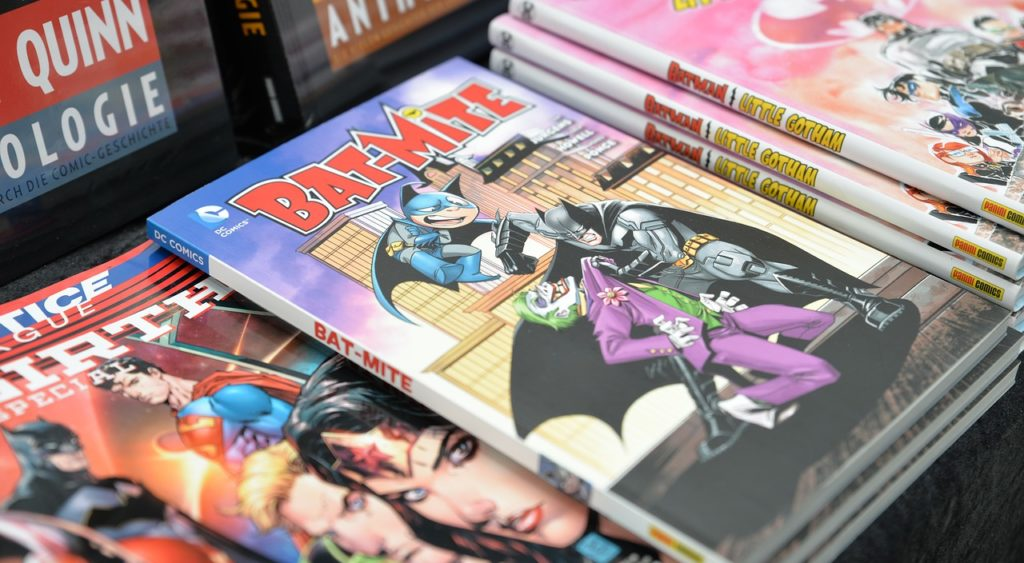 Fan convention planning can begin with a simple love of comic books like these ones.