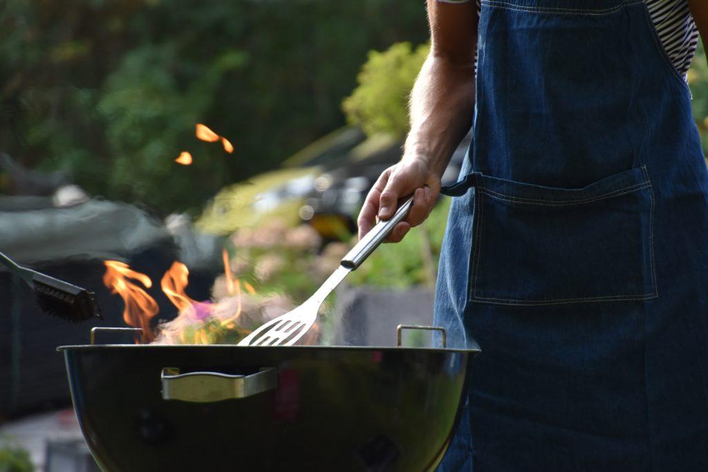 Fathers Day Event Ideas: Organise a community BBQ.