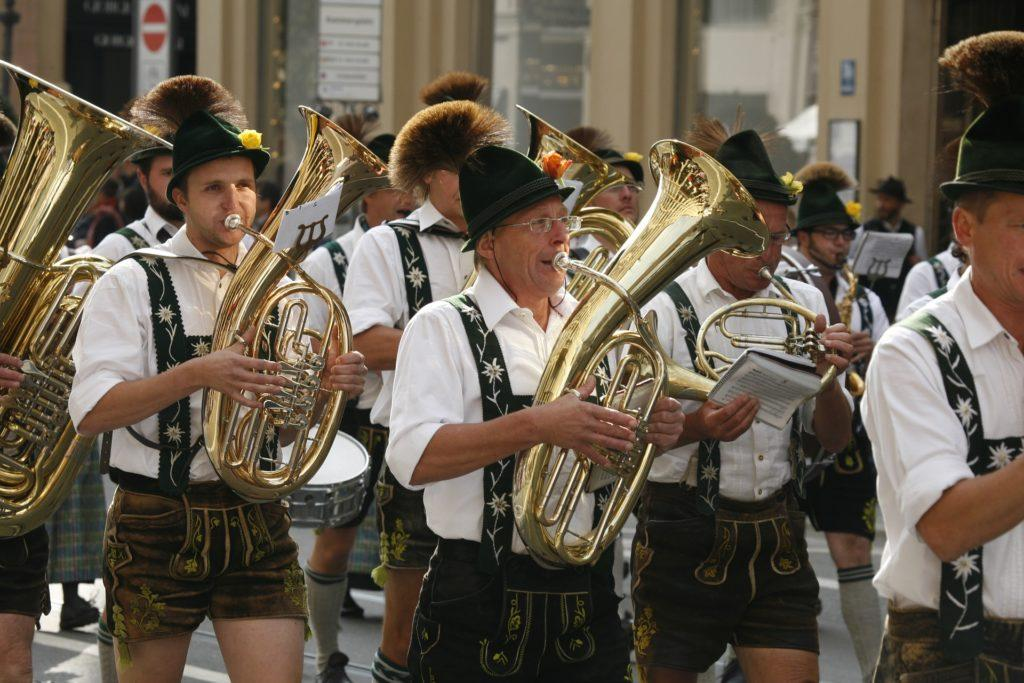 Oktoberfest Event Ideas: No one gets the party started like these guys.
